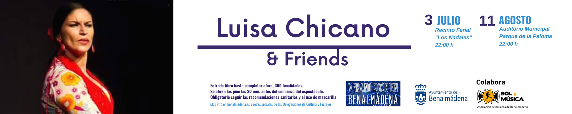 Luisa Chicano and Friends