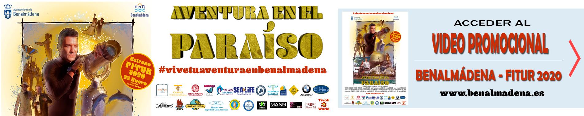 Aventura en el Paraíso - Benalmádena en Fitur 2020