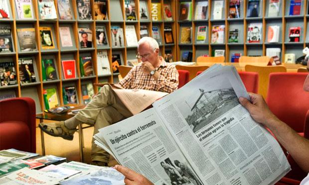 Lectura en Sala