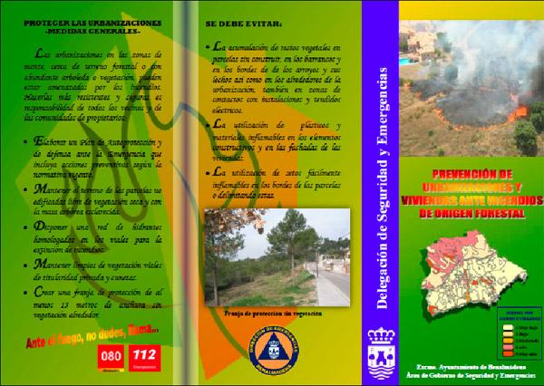 Prevención en la interfaz urbano-forestal