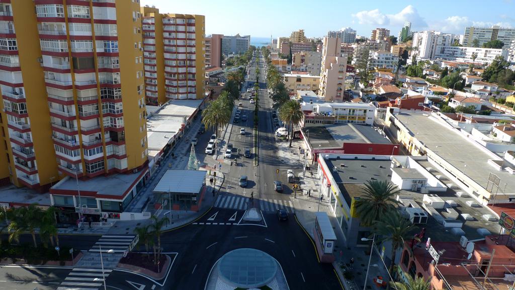 Avenida Solymar - Vista aérea