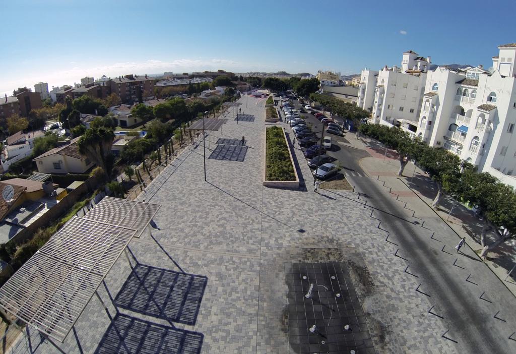 Bulevar Andrade - Vista aérea