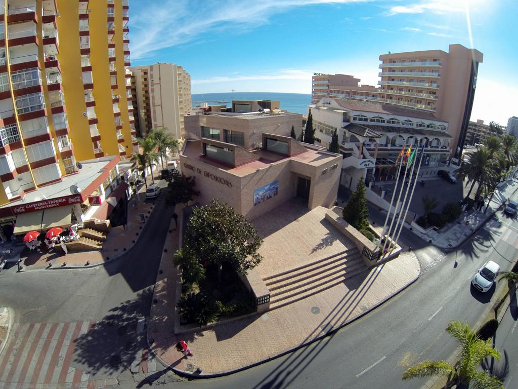 Centro de Exposiciones - Vista aérea