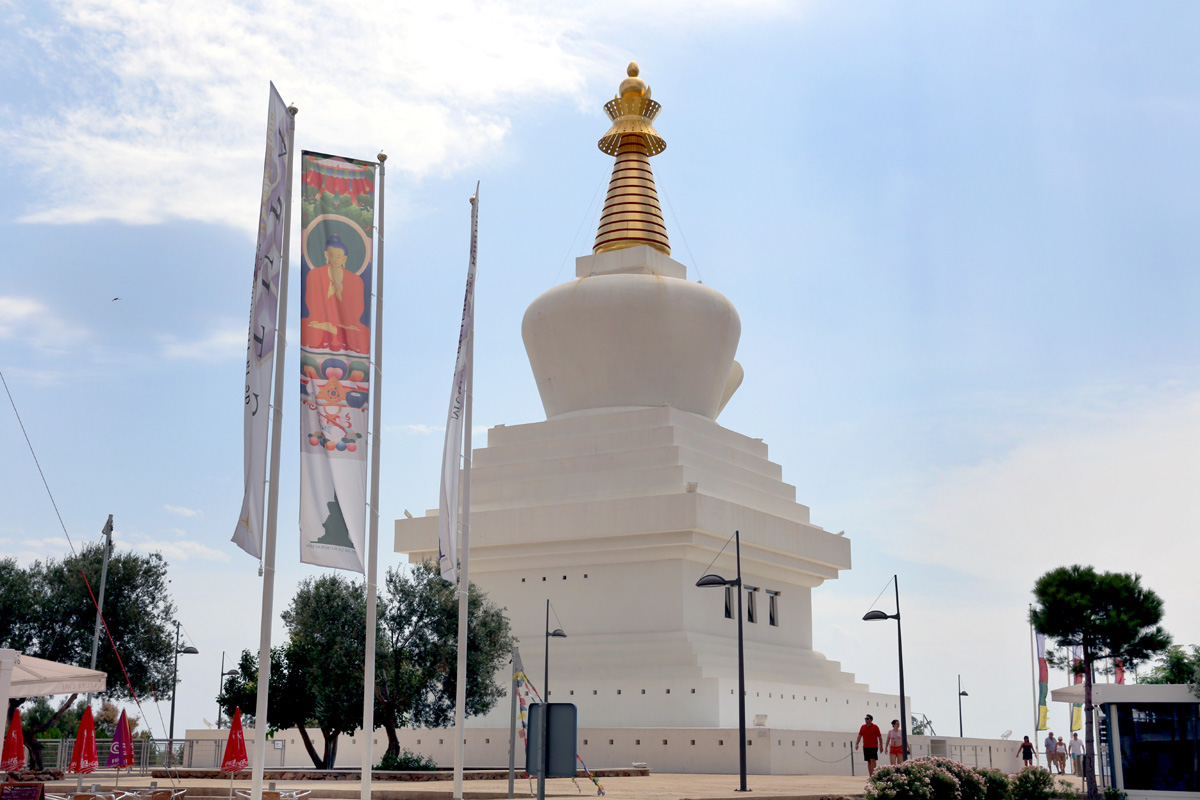 Estupa Budista de la Iluminación - Benalmádena - 2014