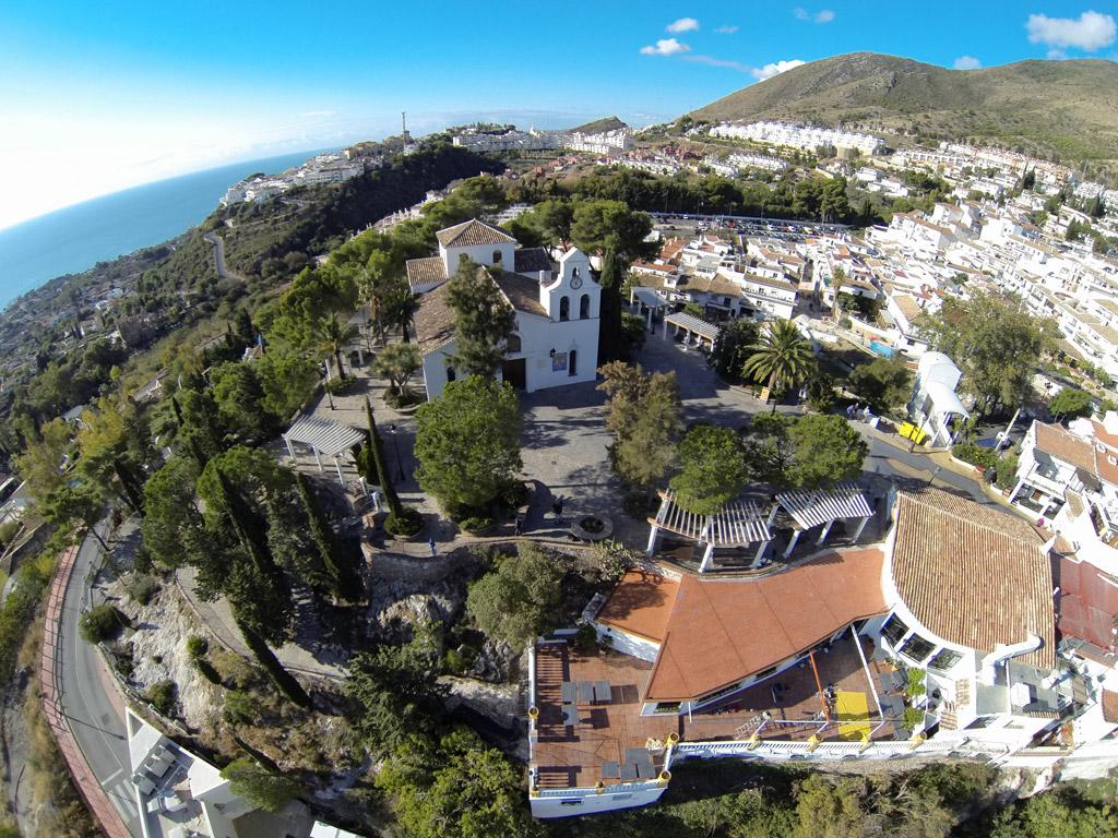 Iglesia Santo Domingo - Vista aérea