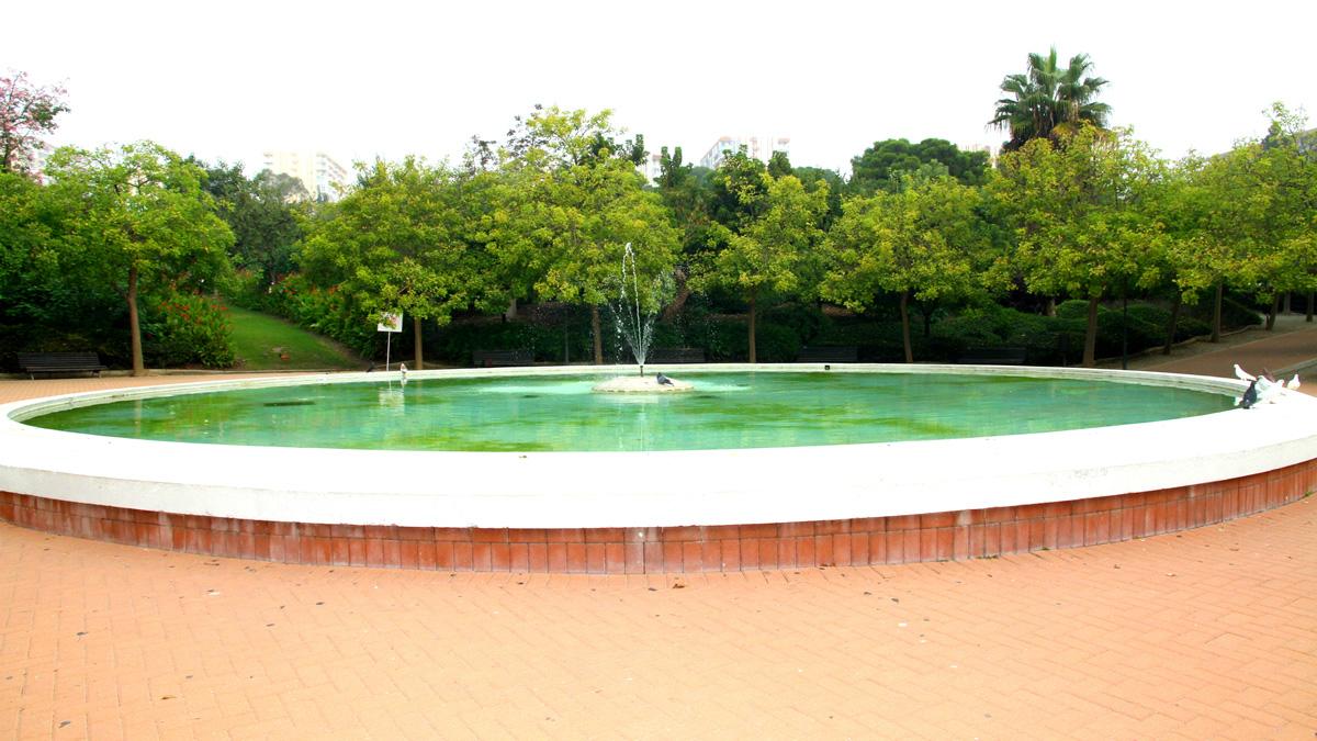Parque de la Paloma - Fuente grande - Benalmádena