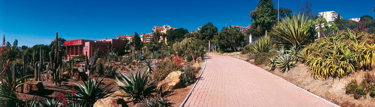 Parque de la Paloma - Jardín de Cactus