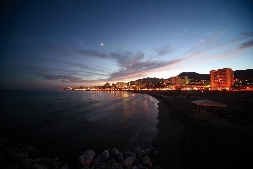 Playas de Benalmádena - Noche