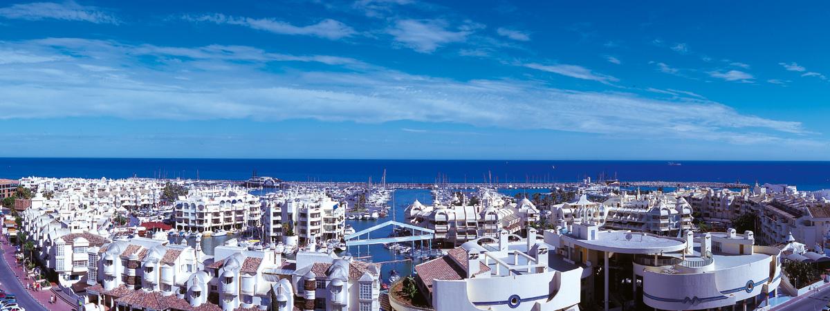 Vistas turísticas de Benalmádena - Puerto Deportivo
