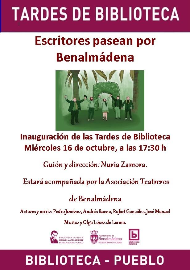 TEATREROS.TARDES DE BIBLIOTECA