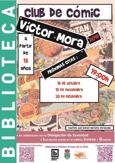 VICTOR MORA. CLUB DEL CÓMIC