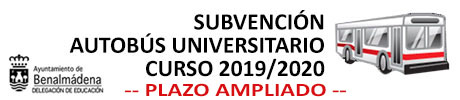 Subvención Autobús Universitario