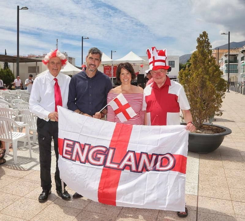 Saint George's Day celebrated in Benalmadena