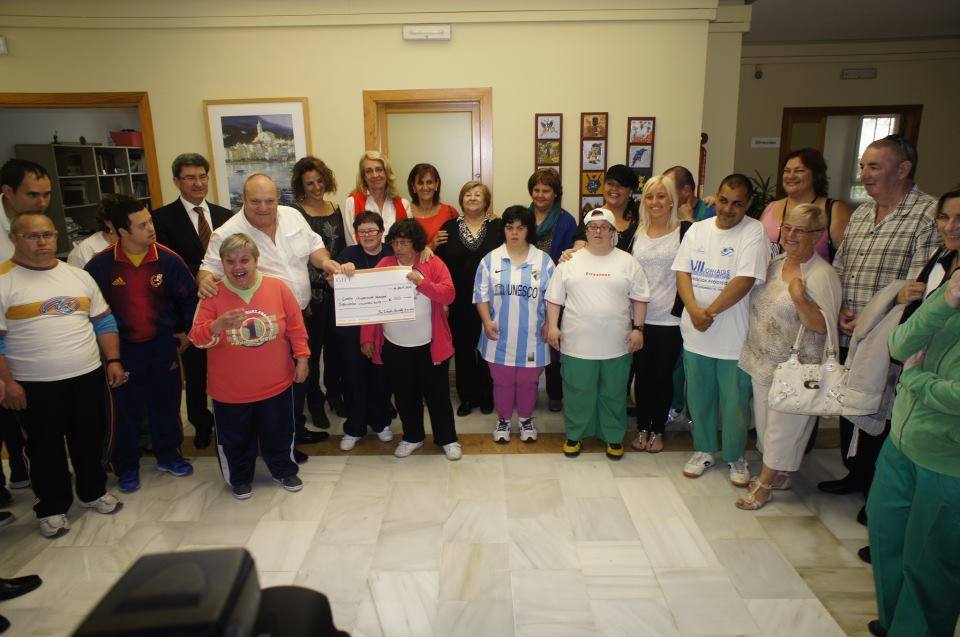 The Welsh Society support the Down Sindrome Occupational Centre in Arroyo de la Miel