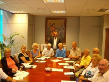 Representatives of foreign residents associations from Benalmadena meet in the Town Hall.