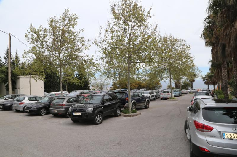 The town hall carries out previous studies for the creation of a new public parking in Benalmadena Pueblo