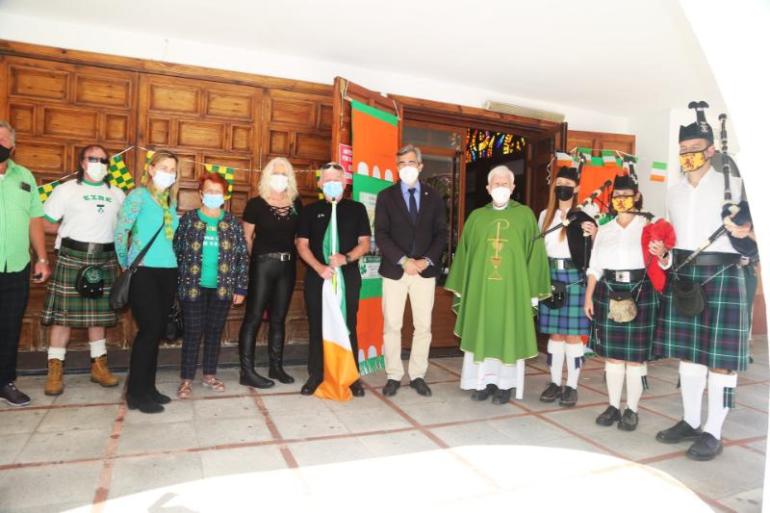 Mayor joins Irish community for celebrating Saint Patrick's Day