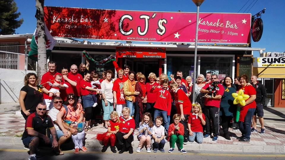 The welsh Residents of Benalmadena have celebrated Saint David's Day