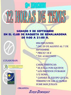 12 HORAS DE TENIS