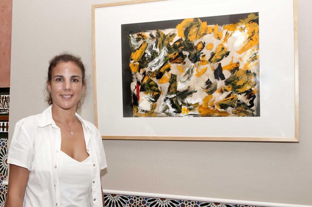 El Castillo del Bil-Bil acoge la exposición 'Obras sobre papel' de Roy Anglada