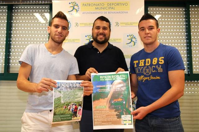 El Patronato Deportivo Municipal pone a disposición de los benalmadenses tres jornadas de senderismo
