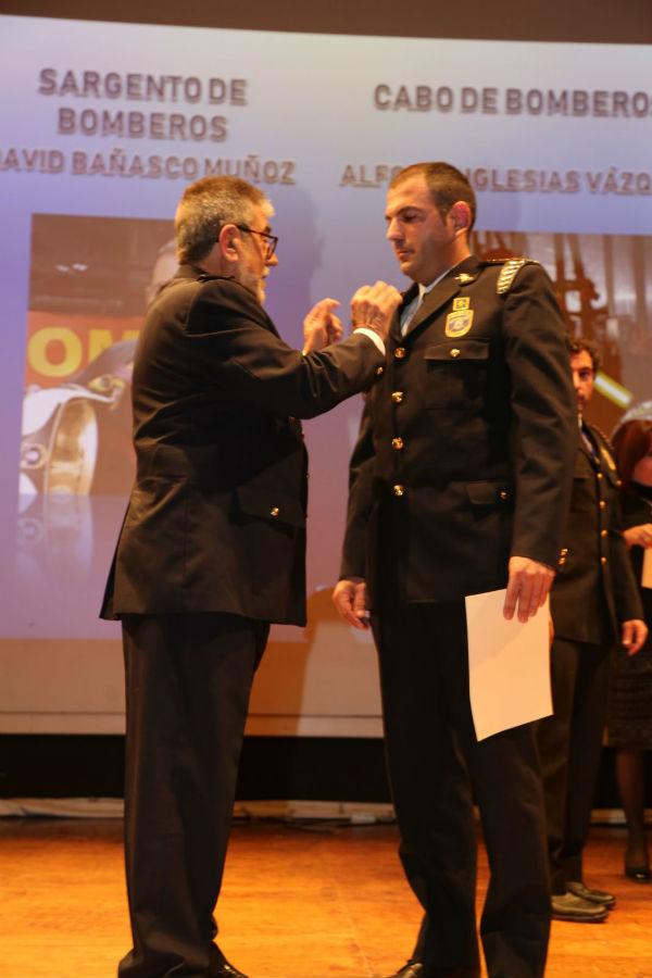 El acto institucional al reconocimiento a los servicios de emergencia, ciudadanos y establecimientos ejemplares en materia de seguridad contra incendios marca el final de la Semana de la Prevención.
