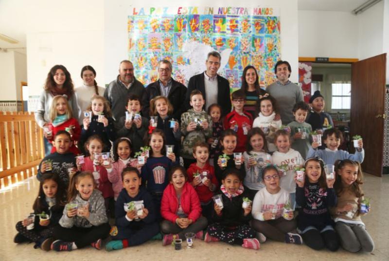 El Ayuntamiento impulsa el programa de educación ambiental en los colegios del municipio.
