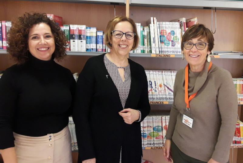La Biblioteca del Arroyo de la Miel fue la tercera de Andalucía en números de prestamos durante el 2018.