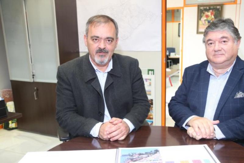 El Equipo de Gobierno plantea cambiar y unificar la imagen de las terrazas comerciales de los tres núcleos de Benalmádena.