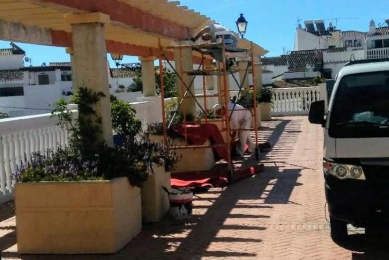 SERVICIOS OPERATIVOS CONTINÚAN LOS TRABAJOS DE MEJORA EN EL MUNICIPIO