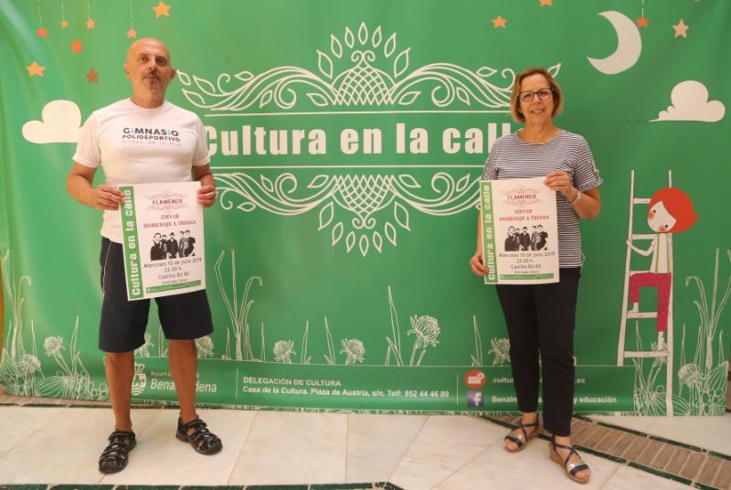LA BANDA ZIRYAB PRESENTARÁ SU 'HOMENAJE A TRIANA' EN EL CASTILLO DE BIL-BIL EL MIÉRCOLES 10 DE JULIO