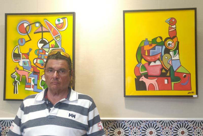 EL CASTILLO DE BIL-BIL ACOGE DURANTE AGOSTO UNA EXPOSICIÓN DE PINTURA DEL ARTISTA JUAN CARLOS JIMÉNEZ SASTRE