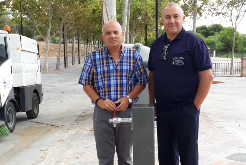 SERVICIOS OPERATIVOS INSTALARÁ NUEVAS FUENTES DE AGUA POTABLE EN ZONAS DEMANDADAS POR LOS VECINOS