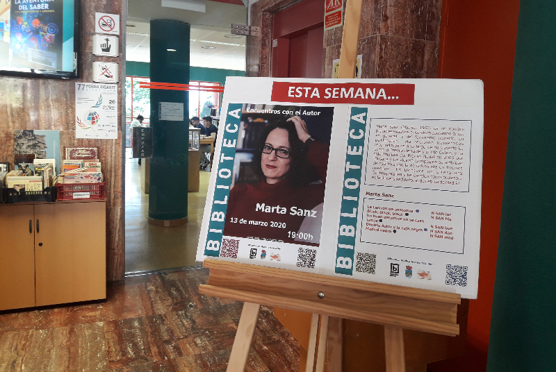 EL ENCUENTRO CON MARTA SANZ, COLOFÓN A LOS ACTOS DE CELEBRACIÓN DEL DÍA INTERNACIONAL DE LA MUJER