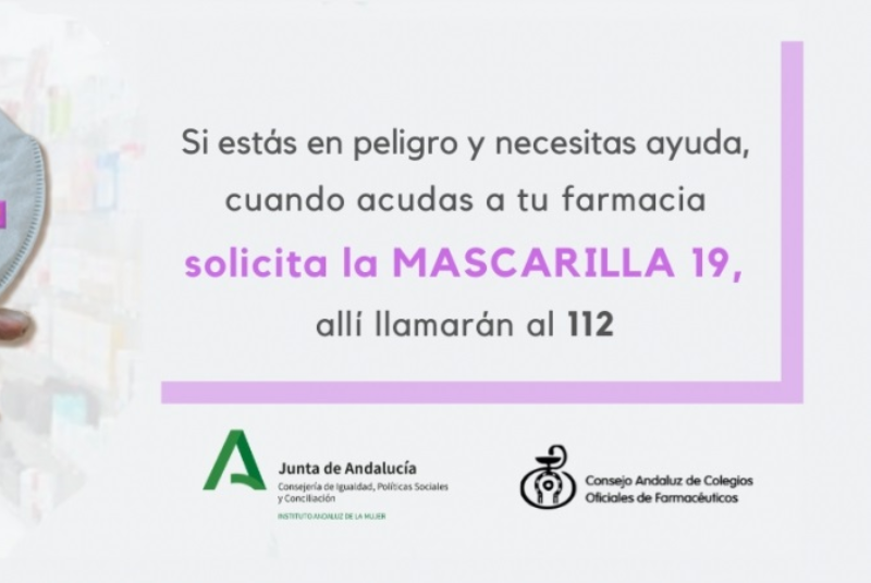LA CONCEJALÍA DE IGUALDAD PRESENTA LA CAMPAÑA INFORMATIVA 'MASCARILLA 19', DIRIGIDA A FARMACIAS