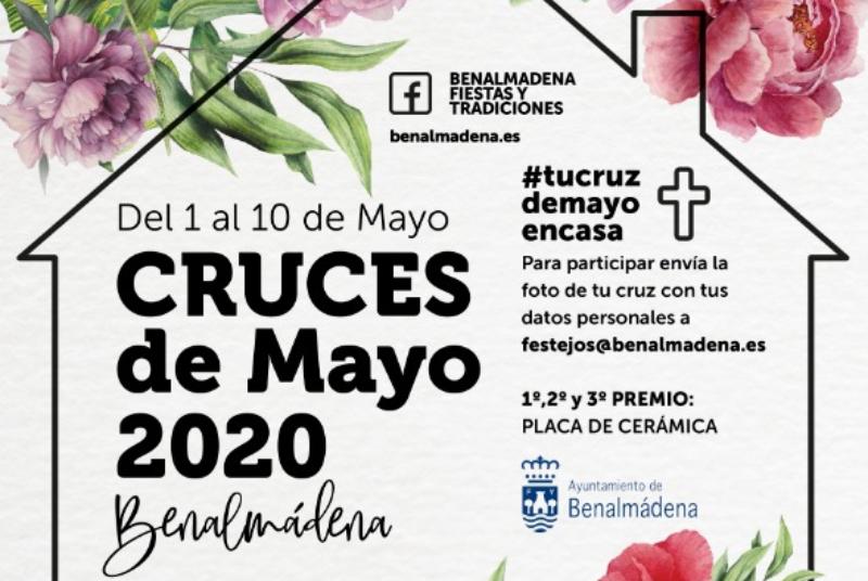 FESTEJOS ORGANIZA EL CONCURSO VIRTUAL DE CRUCES DE MAYO #tucruzdemayoencasa