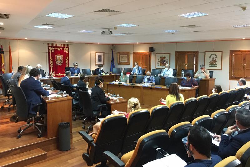 EL PLENO ACUERDA SOLICITAR AL MINISTERIO DEL INTERIOR LA MEDALLA AL MÉRITO PARA PROTECCIÓN CIVIL