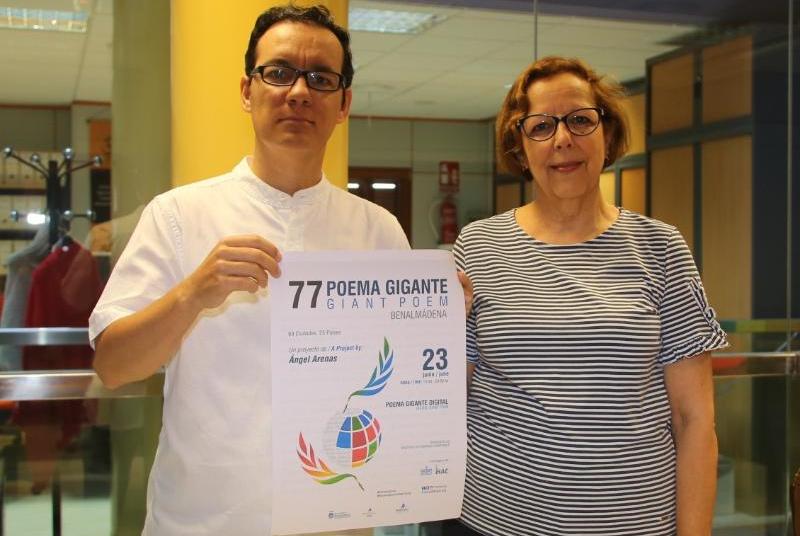EL POEMA GIGANTE PARA 2020 TENDRÁ CARÁCTER VIRTUAL PARA RESPETAR LAS MEDIDAS DE PREVENCIÓN ANTE LA COVID-19