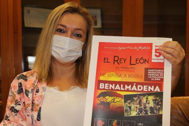 EL MUSICAL INFANTIL DE 'EL REY LEÓN' PONDRÁ EL BROCHE AL PROGRAMA CULTURAL 'VERANO 2020 EN BENALMÁDENA'