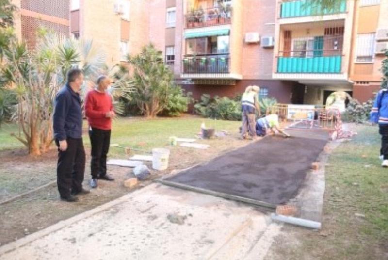 Servicios Operativos continúan con el Plan de Mejoras con actuaciones en Residencial Madrid
