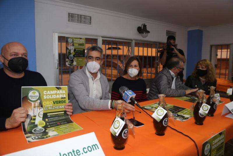 La Despensa del Aceite impulsa la campaña solidaria 'Oro Verde contra el Alzheimer', en beneficio de AFAB