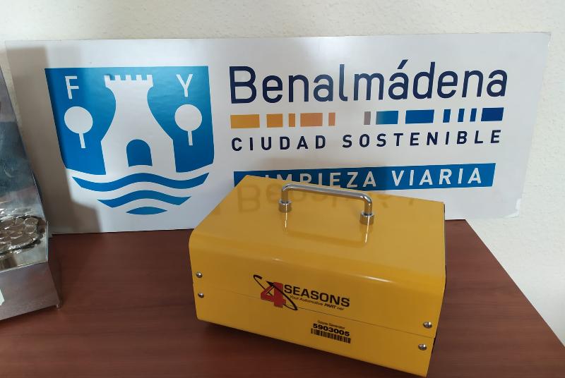 Un empresario del municipio dona a Servicios Operativos un generador portátil de ozono