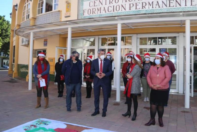 LOS ALUMNOS DE 'BENEMPLEA INCLUYE' CIERRAN EL AÑO BRINDANDO POR '10 ILUSIONES PARA ENTENDER LA NAVIDAD'