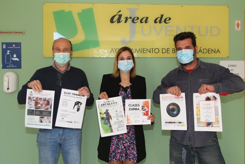 LA CONCEJALA MARÍA ISABEL RUIZ PRESENTA EL PROGRAMA DE ACTIVIDADES DE JUVENTUD PARA EL PRIMER TRIMESTRE DE 2021