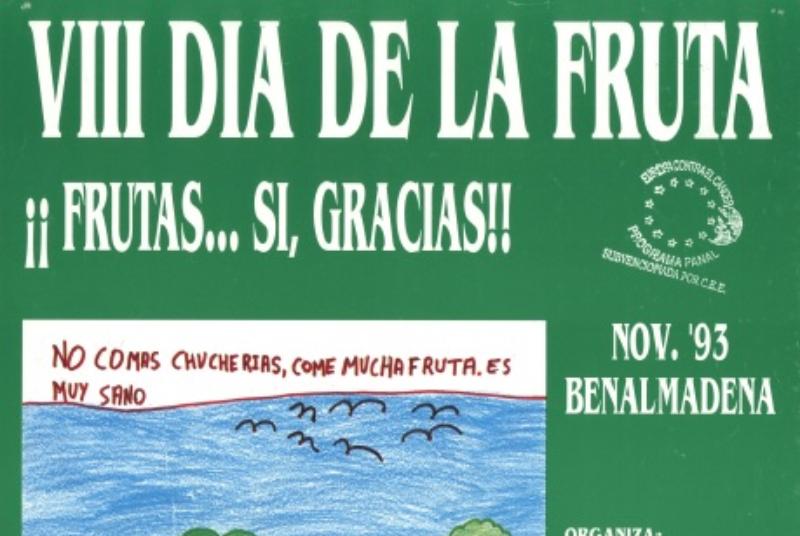 EL DOCUMENTO DEL MES EN LA BIBLIOTECA PÚBLICA ARROYO DE LA MIEL CELEBRA EL AÑO INTERNACIONAL DE LAS FRUTAS Y LAS VERDURAS
