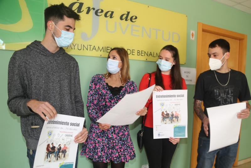 LOS CORRESPONSALES JUVENILES ORGANIZAN UNA ASAMBLEA JUVENIL EN EL EDIFICIO INNOVA