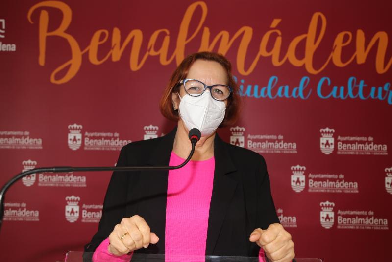"""LA CONCEJALA ELENA GALÁN ANUNCIA """"UN AÑO IMPORTANTE PARA LA CULTURA EN BENALMÁDENA"""""""