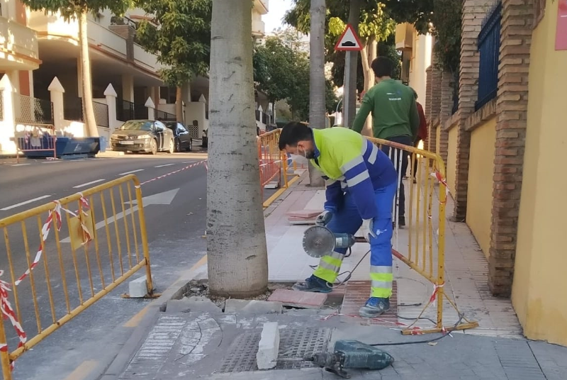 SERVICIOS OPERATIVOS CONTINÚAN CON SU PLAN DE MEJORAS POR BARRIADAS