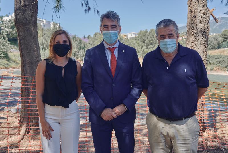 LAS OBRAS DE DECRECIMIENTO Y MEJORA DE LOS LAGOS DE BELLAVISTA AFRONTAN SU RECTA FINAL