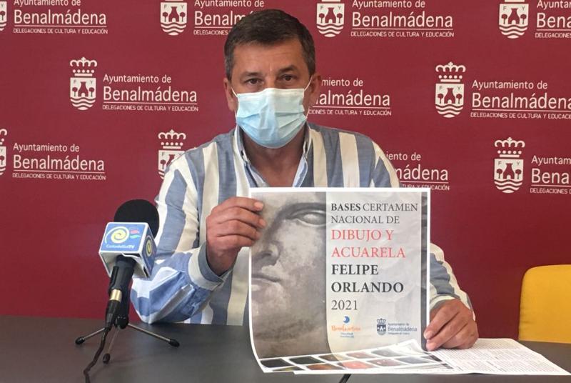 BENALMÁDENA CONVOCA EL CERTAMEN NACIONAL DE DIBUJO Y ACUARELA FELIPE ORLANDO